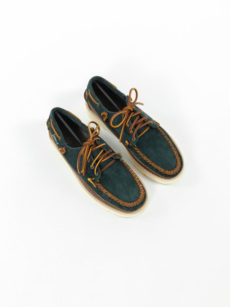 Sebago Sebago Cayuga Blue Navy/Dark brown