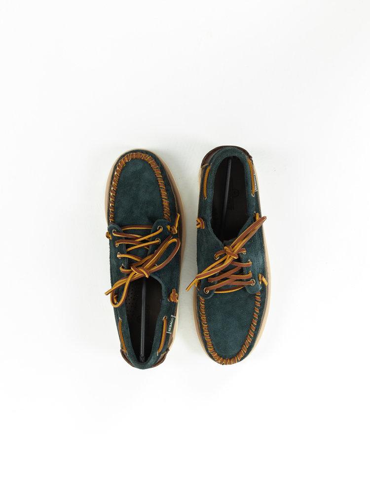 Sebago Cayuga Blue Navy/Dark brown
