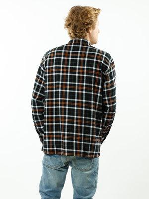 Edwin Jeans Big Shirt Heavy Flannel Black