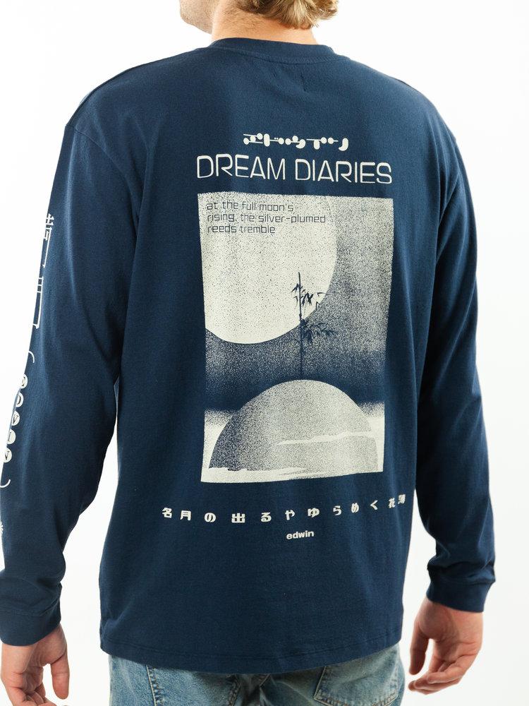 Edwin Jeans Dream Diaries II Longsleeve Navy Blazer