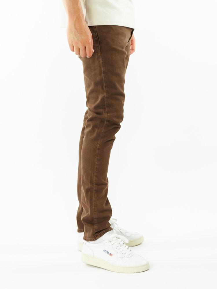 Nudie Jeans Lean Dean Washed Brown