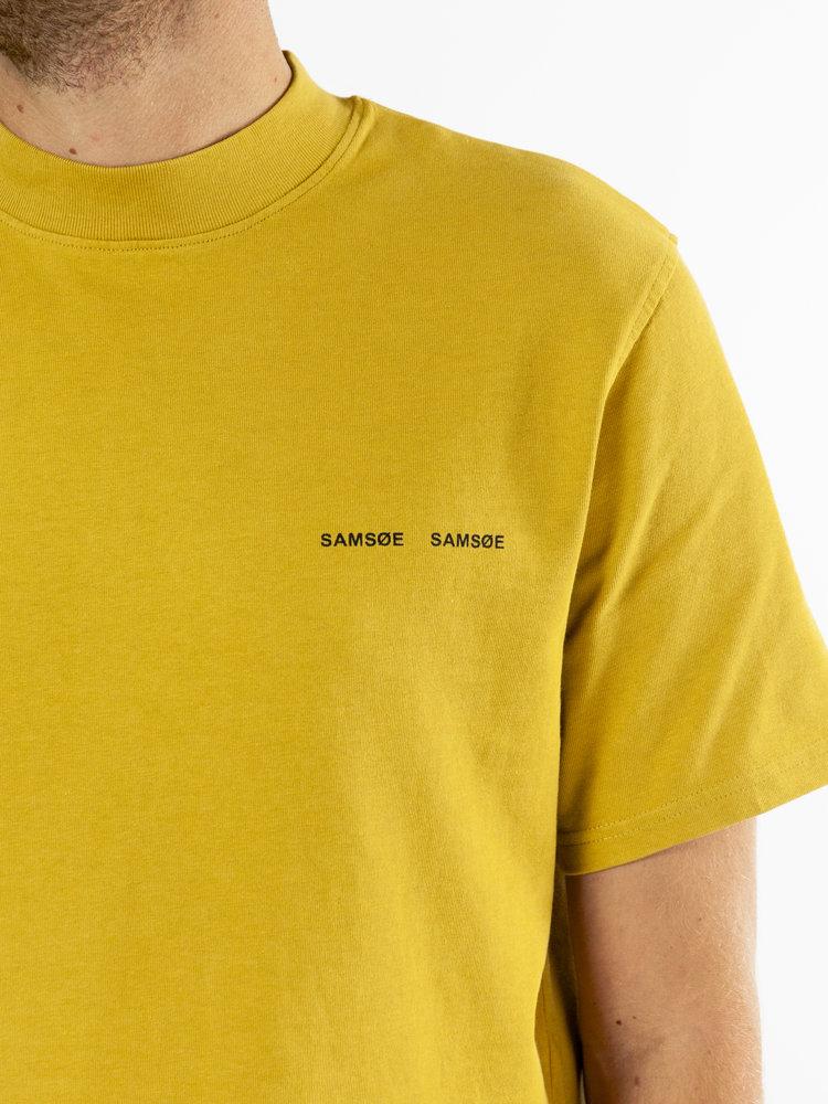 Samsøe Samsøe Samsøe Samsøe Norsbro T-shirt Mustard Gold