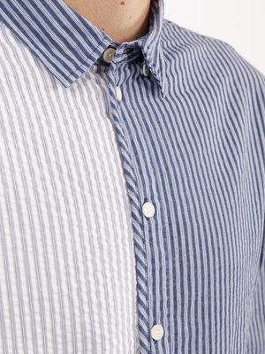 Wax London Kramer Shirt Baseball Stripe