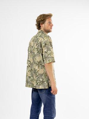 Samsøe Samsøe Ayo shirt Aop Gold Alpine