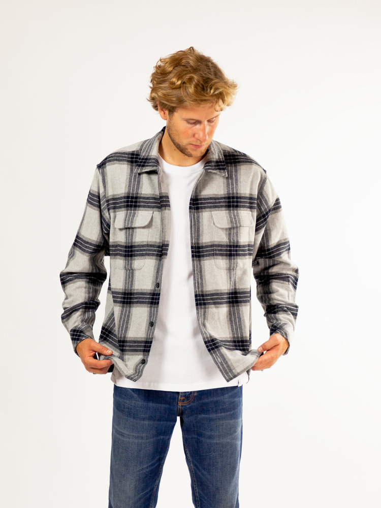 Samsøe Samsøe Castor H Shirt Grey Melange