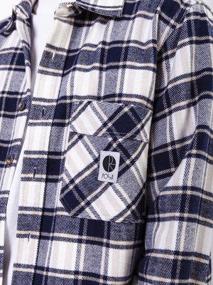 Polar Skate Co. Flannel Shirt Navy