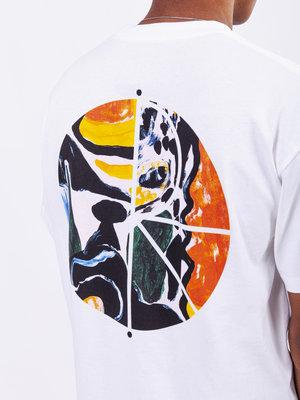 Polar Skate Co. Polar Skate Co. Facescape Fill Logo Tee White