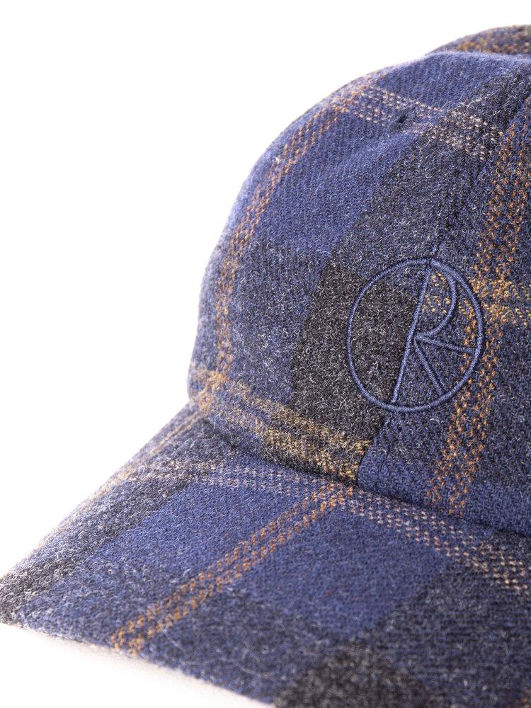 Polar Skate Co. Wool Stroke Logo Cap Blue