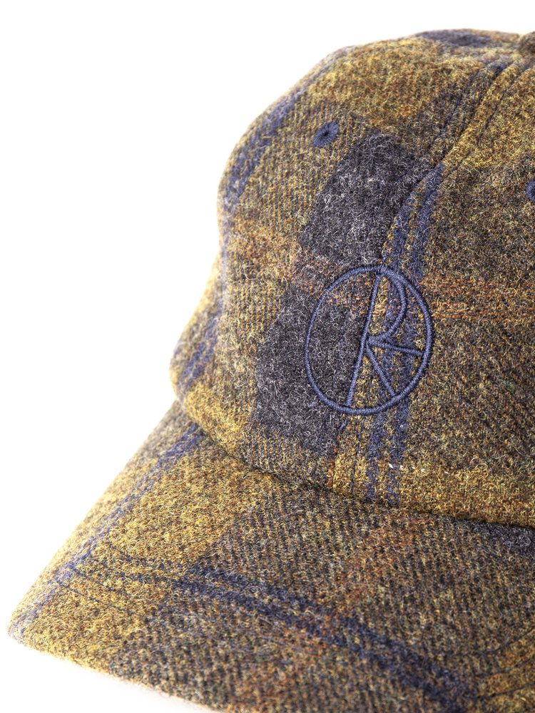 Polar Skate Co. Wool Stroke Logo Cap Green