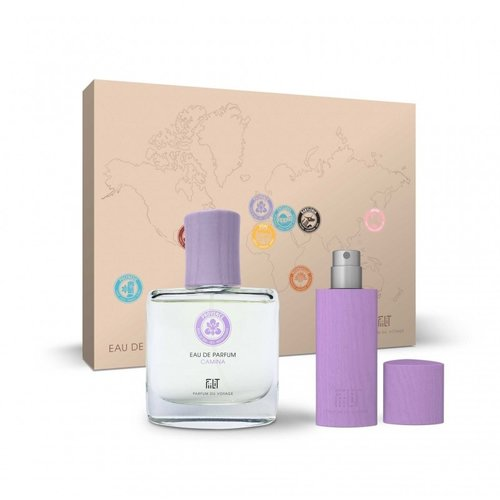Fiilit Parfum Camina - Provence - Gift Box (Spray 50ml+WoodenCase Spray 11ml) - Lavendel, iris, romantisch
