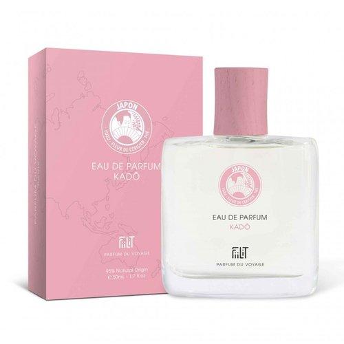 Parfum Kado -Japan - Fluwelige bloemen, zacht, friszoet, regen, bloesem