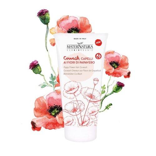MaterNatura Shampoo&Conditioner 2in1 (Poppy Flower)