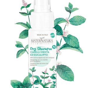 MaterNatura Droog Shampoo (Mint & Eucalyptus)