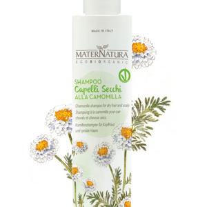 MaterNatura Shampoo - Droog Haar (Kamille)