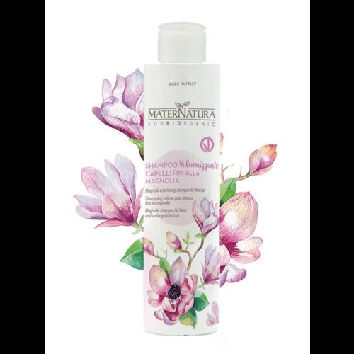 MaterNatura Shampoo - Volume voor Fijn Haar (Magnolia)
