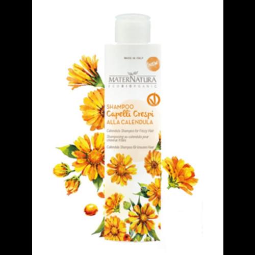 MaterNatura Shampoo - tegen Pluizig Haar (Calendula)