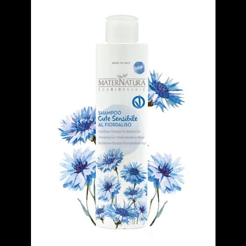 MaterNatura Shampoo - Gevoelige Hoofdhuid (Korenbloem)