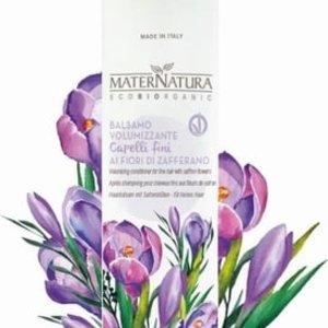 MaterNatura Conditioner - Fijn Haar (Saffraan)