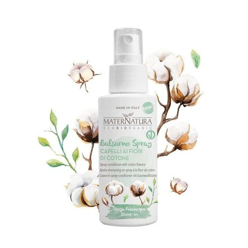 MaterNatura Conditioner Leave-in Spray - Anti Klit (Cotton Flowers)