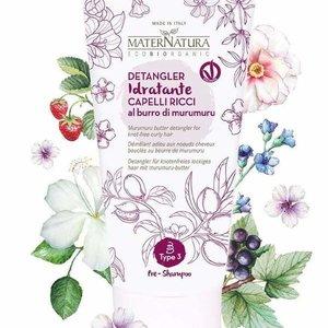MaterNatura Pre-Shampoo Anti Klit - Krullend Haar (Murumuru Butter)