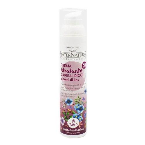 MaterNatura Vochtinbrengende Crème - Krullend Haar (Lijnzaad)
