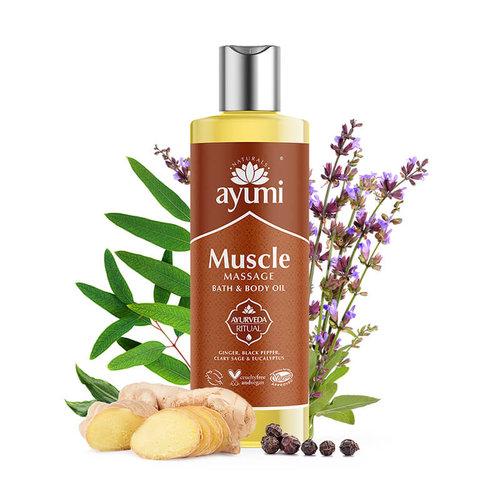 Ayumi Massage Olie - Soepele spieren