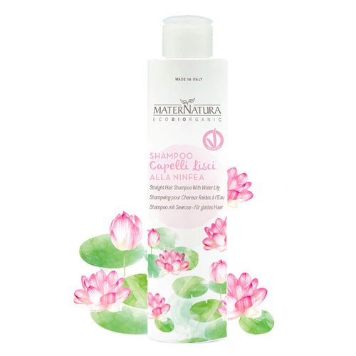 MaterNatura Shampoo - Gestijld Haar (Water Lelie)