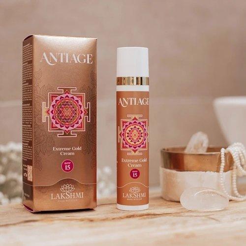 Lakshmi AntiAge Gezichtscreme - Extreme Gold SPF15
