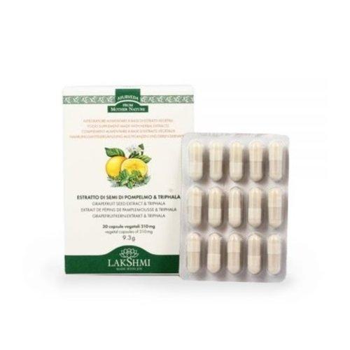 Lakshmi Grapefruit Seed Extract & Triphala - Capsules
