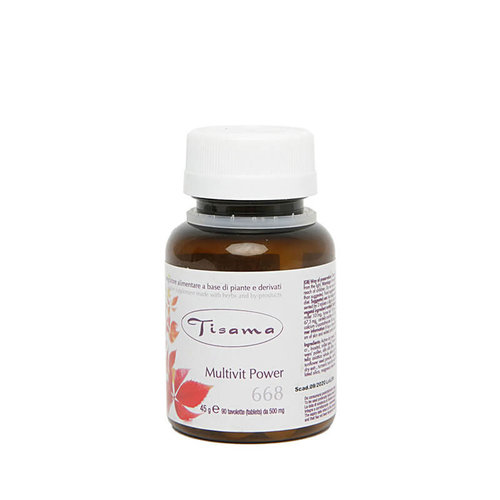 Tisama Multvit Power - Tabletten