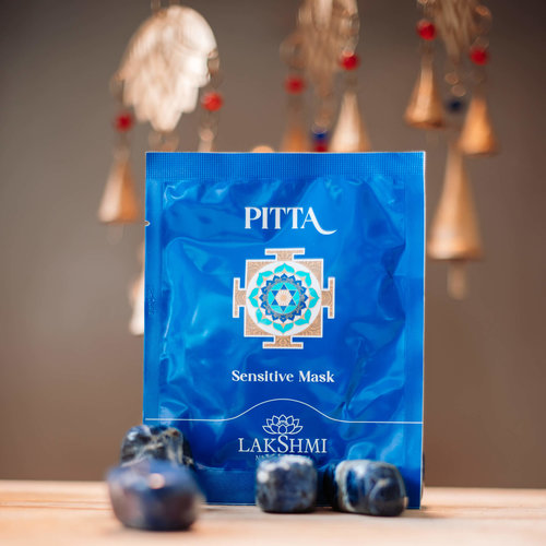 Lakshmi Pitta Sensitive Masker Sheet (Probiotica) Box 6st. - Gevoelige huid