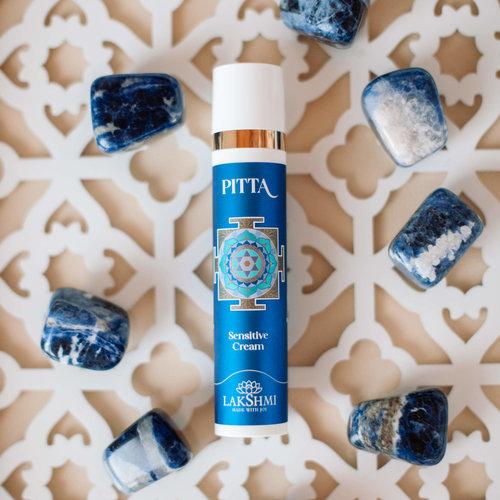 Lakshmi Pitta Sensitive Gezichtscrème (Rozen) - Gevoelige huid