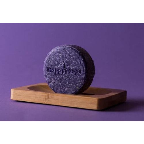 HappySoaps Shampoo Bar - Purple Rain (Blond Haar & Zilvershampoo)