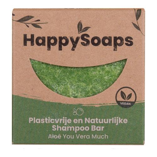 HappySoaps Shampoo Bar - Aloe You Vera Much (AntiRoos & Vet Haar)