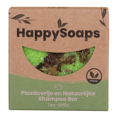 HappySoaps Shampoo Bar - Tea-Riffic (Volume voor Fijn Haar)