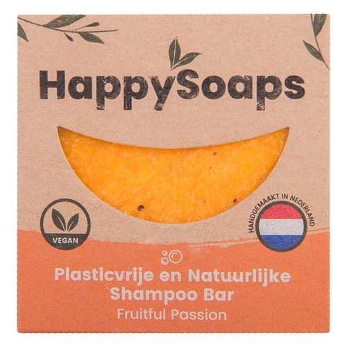 HappySoaps Shampoo Bar - Fruitful Passion (Alle Haartypes)