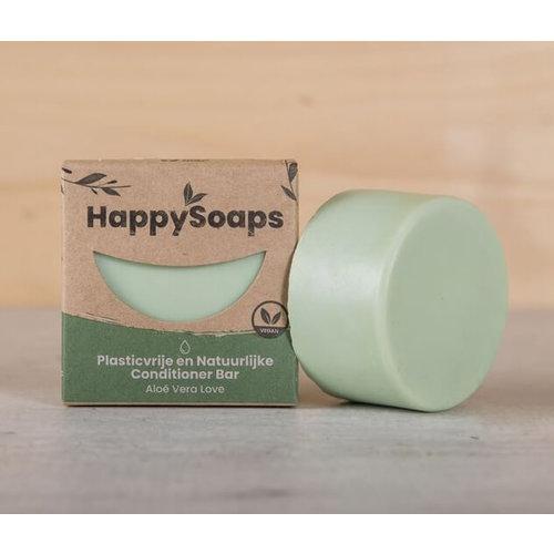 HappySoaps Conditioner Bar - Aloe Vera Love (Alle Haartypes)