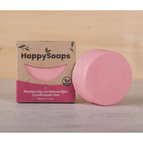 HappySoaps Conditioner Bar - Melon Power (Alle Haartypes)