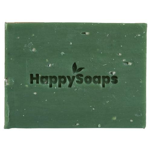 HappySoaps Body Wash Bar - Citroen & Basilicum