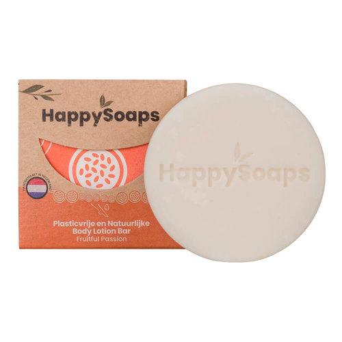 HappySoaps Body Lotion Bar - Fruitful Passion