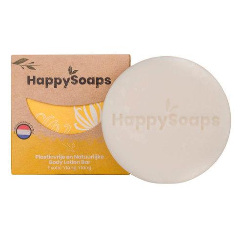 HappySoaps Body Lotion Bar - Exotic YlangYlang