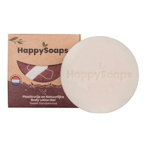 HappySoaps Body Lotion Bar - Sweet Sandelwood