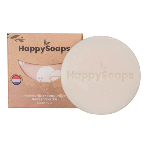 HappySoaps Body Lotion Bar - Coco Nuts