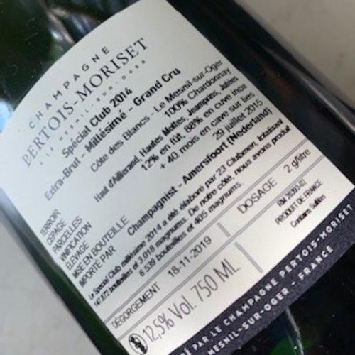 Champagne Pertois-Moriset Special Club Blanc de Blancs Grand Cru