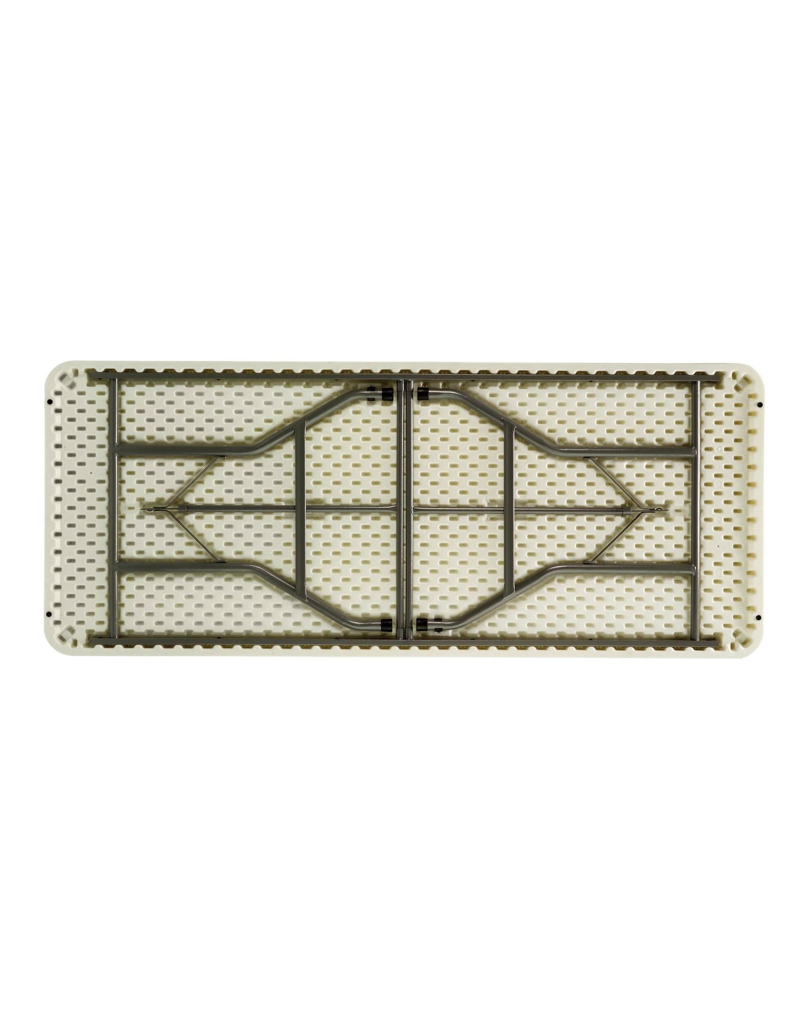 Bankettafel wit koffermodel