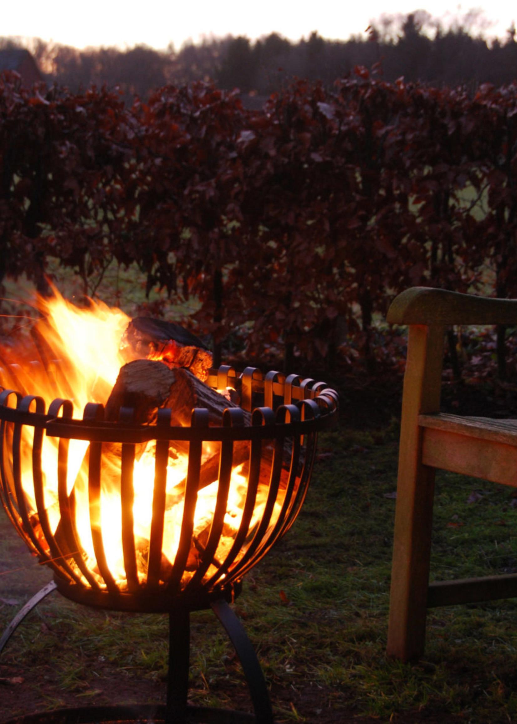 Esschert Design Vuurkorf in tulpvorm