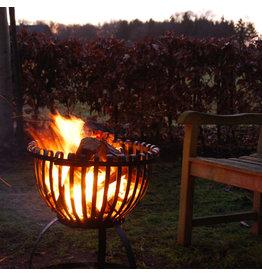Vuurkorf in tulpvorm