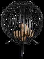 Esschert Design Vuurkorf type vuurbal zwart *