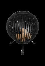 Vuurkorf type vuurbal zwart