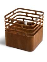Höfats Cube Vuurkorf Multifunctioneel - cortenstaal
